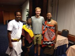 Representatives from South Africa, Somalia and Swaziland!