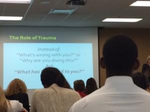 Role of Trauma
