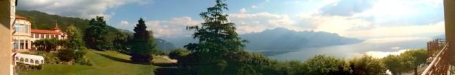 The view from Mountain House at Caux