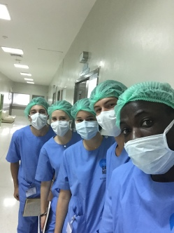 Observing surgery