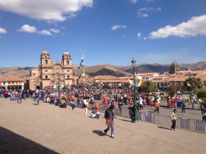 Cusco's Main Plaza