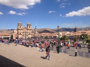 Cusco's Main Plaza