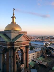 The view from St Isaac's Cathedral - best viewpoint in St Petersburg