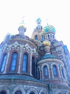 Church on the Saviours Blood was by far the most impressive building I saw in Russia