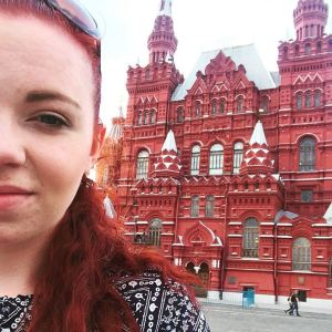 In Moscow in the infamous Red Square