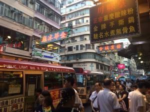 Daily Mong Kok bustle
