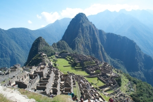 Of course I went to Machu Picchu...