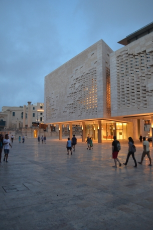 Renzo Piano's recently completed Parliament of Malta
