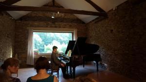 Final concert at Albignac