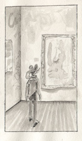 Observing art and the observers