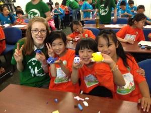 Environmental education event for migrant schools.