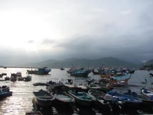 Cheung Chau Isl. fishing village, famous among tourists and locals alike for its seafood