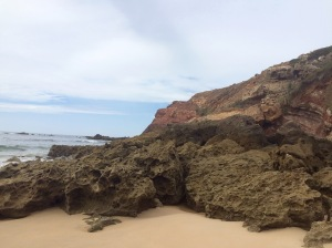 telheiro beach unconformity
