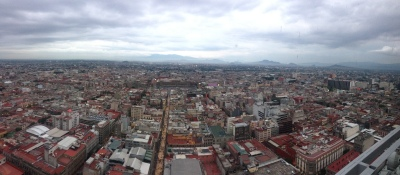 Mexico City from the top of the Torre Latinoamericana