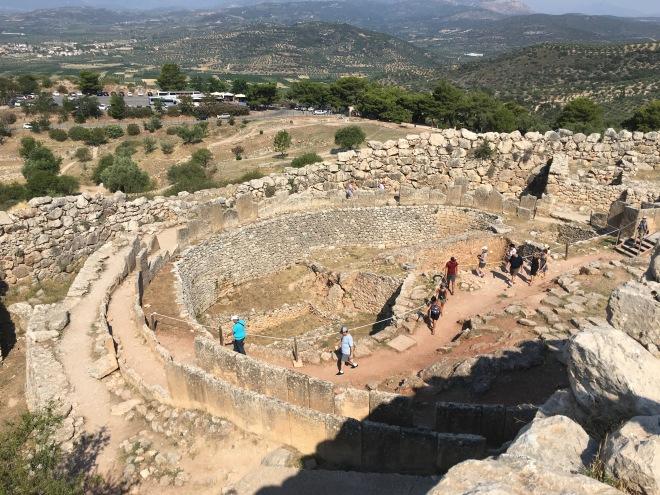 Mycenae Archaeological Site