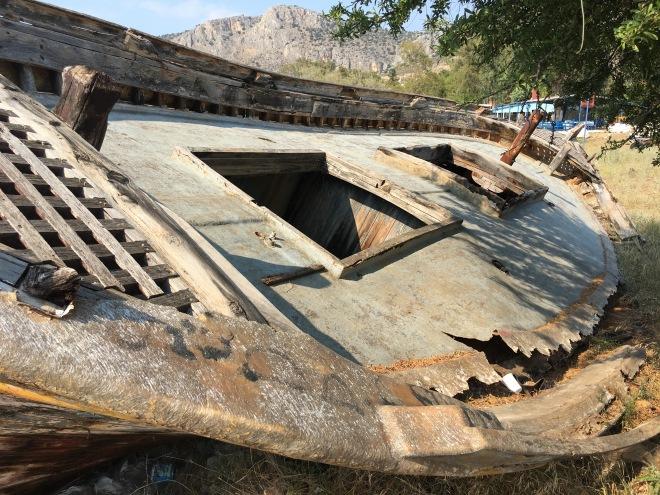 Nafplio Abandoned Boat