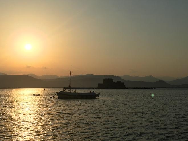 Nafplio at Sunset