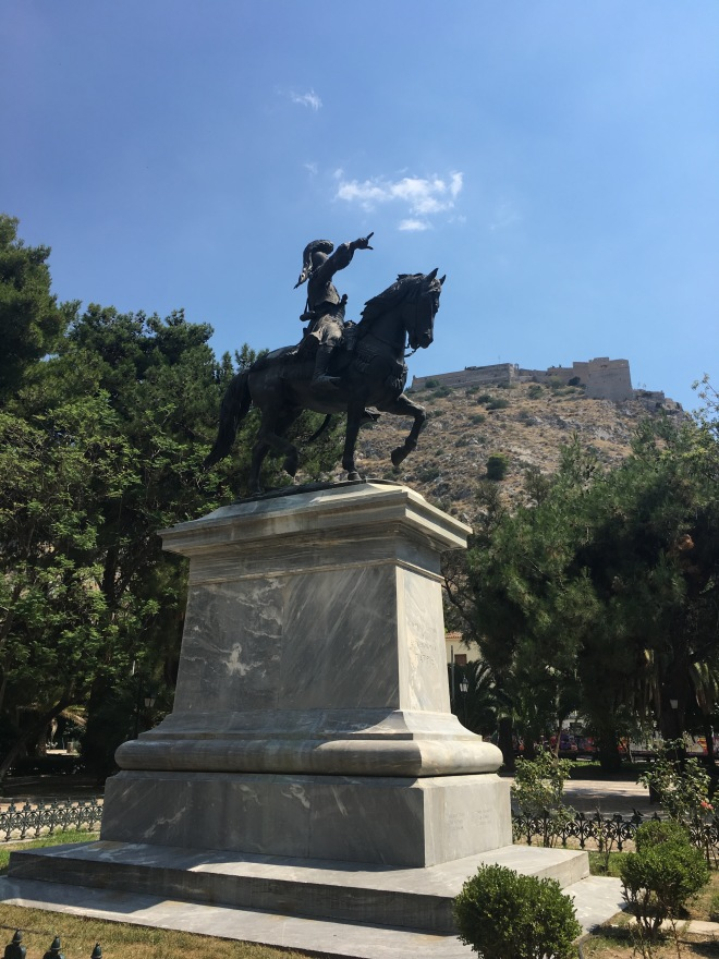 Nafplio Central Statue