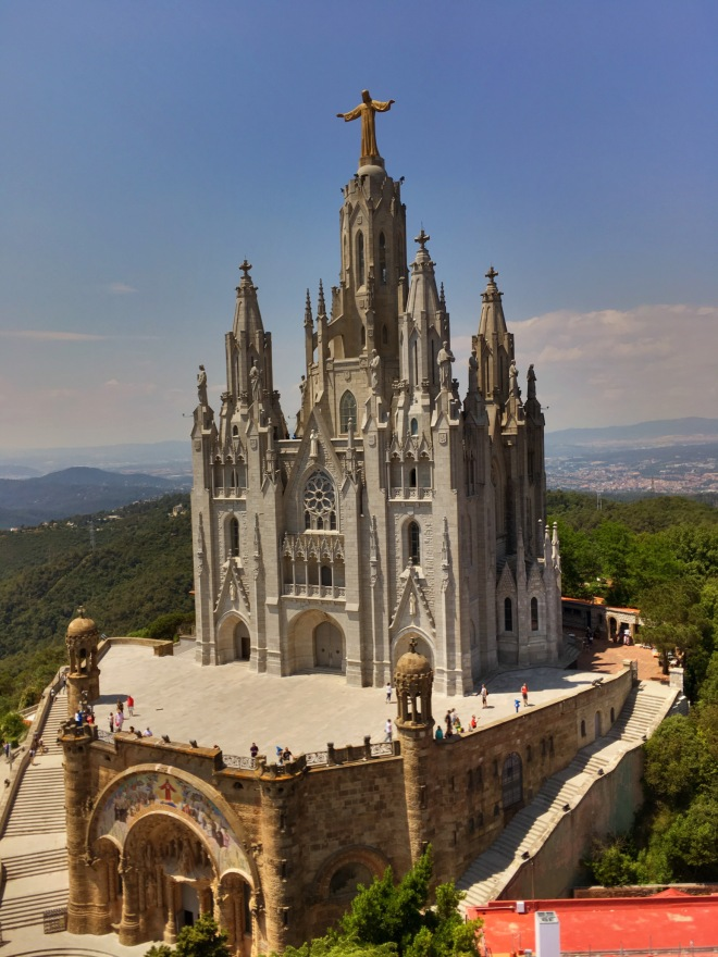 Temple of the Sacred Heart of Jesus. Tibidabo