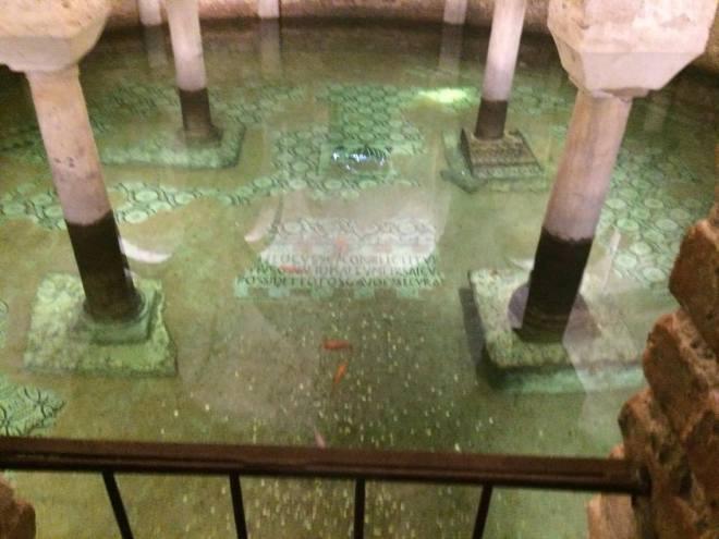 Basilica di San Francesco flooded chamber