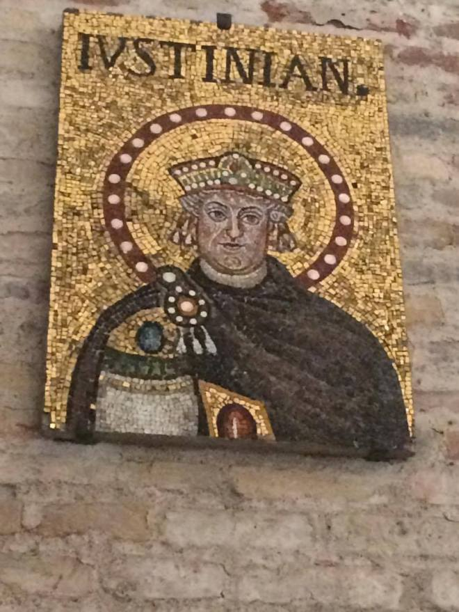Portrait of the Emperor Justinian