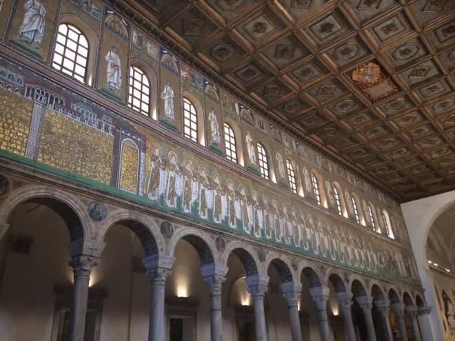 Procession Mosaic Sant Apollonare Nuovo