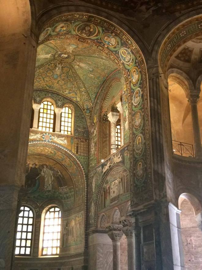 San Vitale Mosaic Work